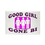 Good Girl Gone Bi Rectangle Magnet (10 pack)
