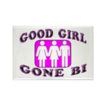 Good Girl Gone Bi Rectangle Magnet