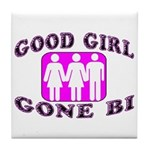 Good Girl Gone Bi Tile Coaster