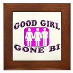 Good Girl Gone Bi Framed Tile