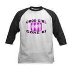 Good Girl Gone Bi Kids Baseball Jersey