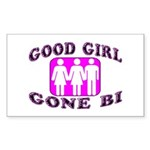 Good Girl Gone Bi Rectangle Sticker 10 pk)