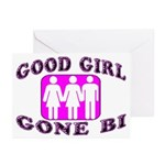 Good Girl Gone Bi Greeting Cards (Pk of 20)