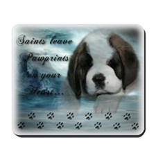Saint Bernard Puppy Mousepad