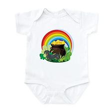 Dachshund St Patricks Day Infant Bodysuit
