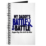 My Battle Too 1 BLUE (Daddy) Journal