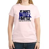 My Battle Too 1 BLUE (Daddy)  T-Shirt