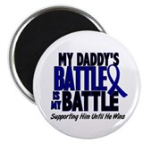 "My Battle Too 1 BLUE (Daddy) 2.25"" Magnet (10 pack"