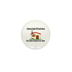 Loving Home Mini Button (10 pack)
