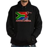 South Africa Cricket Player Hoody