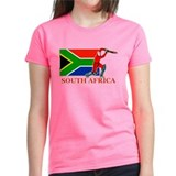 South Africa Cricket Player Tee