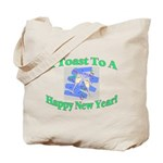New Year's Toast Tote Bag