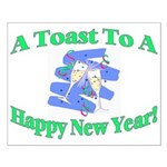 New Year's Toast Small Poster