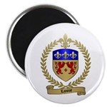 LANOUE Family Crest Magnet