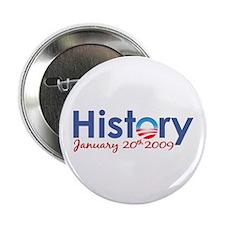 "Obama History Inauguration 2009 2.25"" Button"