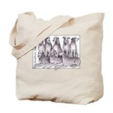 Cute Deerhound Tote Bag