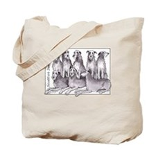 Unique Scottish deerhound Tote Bag
