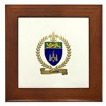 LAMOTHE Family Crest Framed Tile
