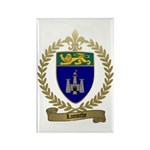 LAMOTHE Family Crest Rectangle Magnet
