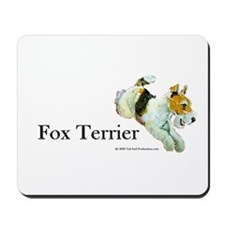 Flying Fox Terrier Mousepad