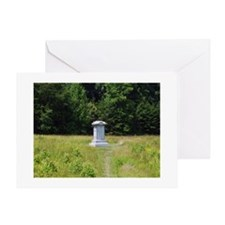 126th Ohio Monument Greeting Card