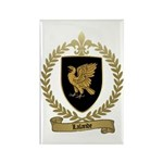 LALANDE Family Crest Rectangle Magnet (100 pack)