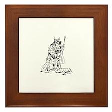 Odin Framed Tile