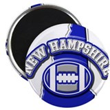 New Hampshire Football Magnet