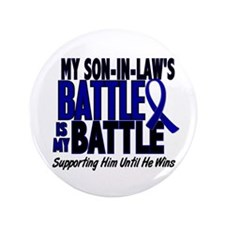 "My Battle Too 1 BLUE (Son-In-Law) 3.5"" Button"