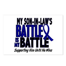 My Battle Too 1 BLUE (Son-In-Law) Postcards (Packa