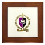 LAGRANGE Family Crest Framed Tile