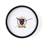 LAGRANGE Family Crest Wall Clock
