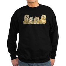 Crazy about Cairn Terriers Sweatshirt