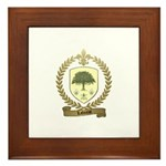 LAFOREST Family Crest Framed Tile