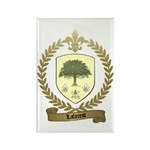 LAFOREST Family Crest Rectangle Magnet
