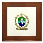 LABORNE Family Crest Framed Tile