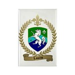 LABORNE Family Crest Rectangle Magnet