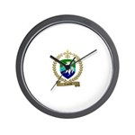 LABORNE Family Crest Wall Clock