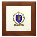 LABAUVE Family Crest Framed Tile