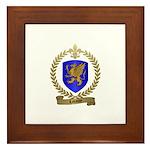 LABAUVE Family Crest Framed Tile