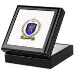 LABAUVE Family Crest Keepsake Box