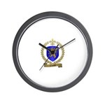 LABAUVE Family Crest Wall Clock