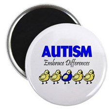 Autism, Embrace Differences Magnet