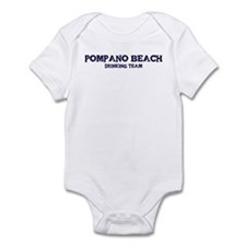 Pompano Beach drinking team Infant Bodysuit