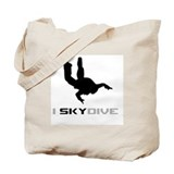 Cute Plane Tote Bag