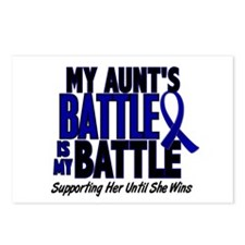 My Battle Too 1 BLUE (Aunt) Postcards (Package of