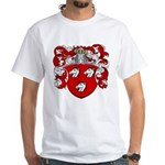 Haeck Family Crest White T-Shirt