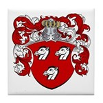 Haeck Family Crest Tile Coaster