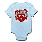 Haeck Family Crest Infant Creeper