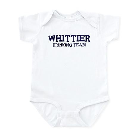Whittier drinking team Infant Bodysuit